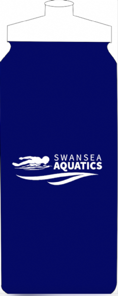 SWANSEA AQUATICS BLUE WATER BOTTLE